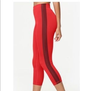 NWT Kendall and Kylie legging with side stripes
